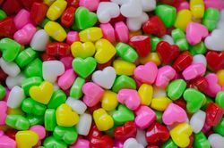 Heart Dextrose Candy /Sugar Candy