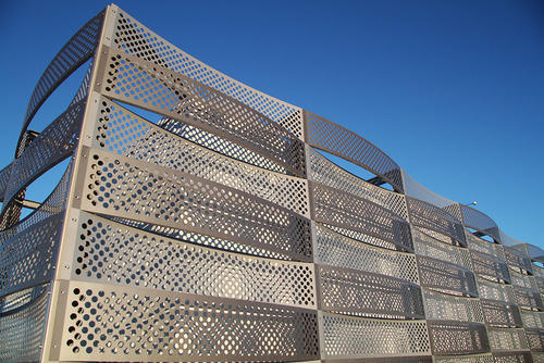 Perforated Metal Facade Burley Tec Private Limited