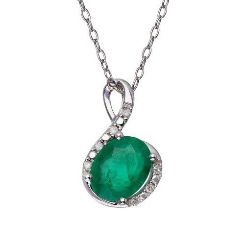 Emerald pendants at rs 6000 piece ratnon wala jhumka emerald pendants aloadofball Choice Image