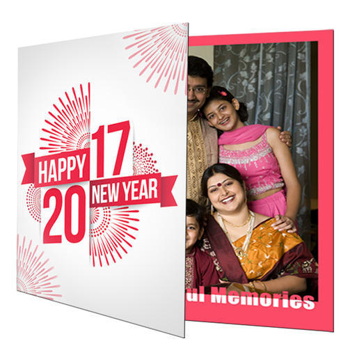 personalized photo new year greeting cards