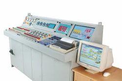 Universal hot mix plant control panel, Electric, 220 V