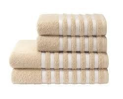 Bombay Dyeing Soft Cotton with Stripe Towel