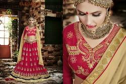 Red Embroidery Exclusive Lehanga