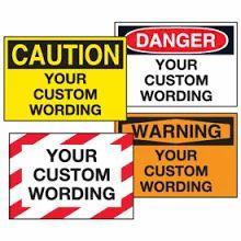 Hazardous/ Warning Stickers