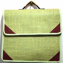 Fancy Jute Laptop Bag