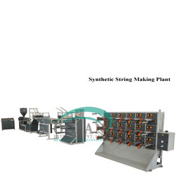 Synthetic String Making Plant