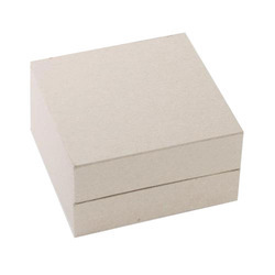 Kraft Paper Rectangular White Duplex Box