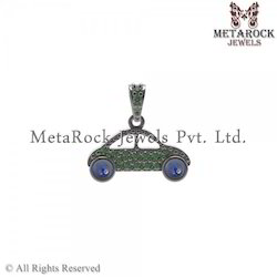 Designer Mix-Gemstone Car Design Connector Finding