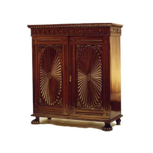Rosewood Low Sunburst Cabinet