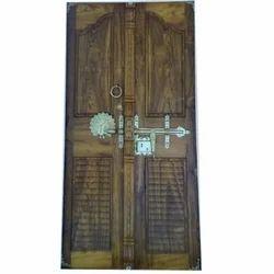 Teak Wood Carvin Door