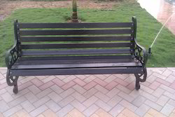 Metal Coated Bench