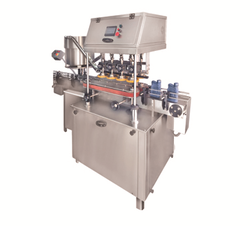 Linear Type Inner Plug and Screw Capping Machine