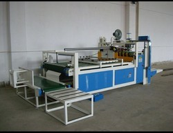 Semi- Automatic Flap Gluing Machine
