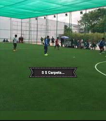 Artificial Football turf with trunkey basis