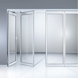 Horizontal Sliding Wall Glass Partitions