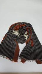 Ladies Embroidered Woolen Shawl