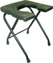 U- Cut Round Pipe Albio Commode Stool