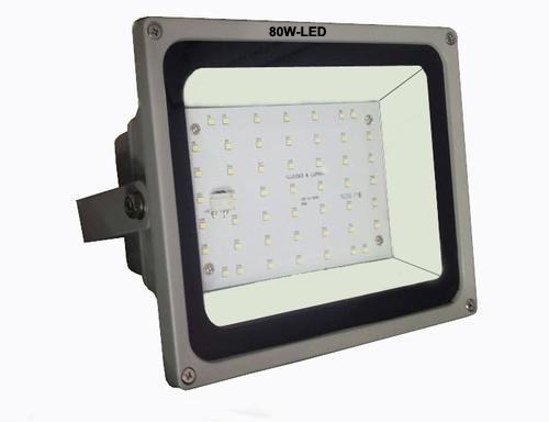 Fluorescent 6500k 80W LED Flood Light, Model Number ...