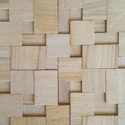 Sandstone Mosaic Wall Cladding