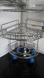 Steel Corner Rack