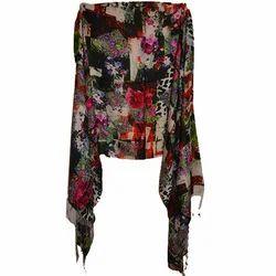 Silk Pashmina Printed Scarves