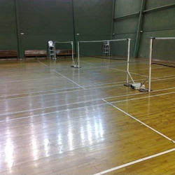 Asian Flooring Squash Court Flooring Four Side Glass Squash Flooring