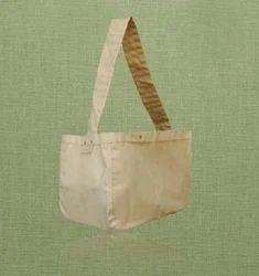 Cotton Messenger Shopping Bag