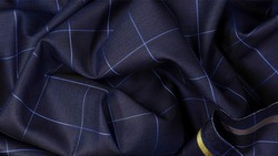 RB-Rughani Brothers Checks Suiting Fabrics, GSM: 200-250