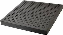 Black Rubber Mounting Pad