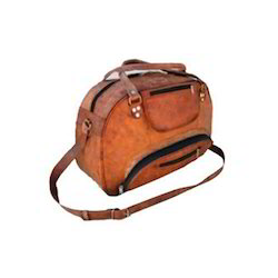 56749fd57f Leather Duffle Bag at Best Price in India