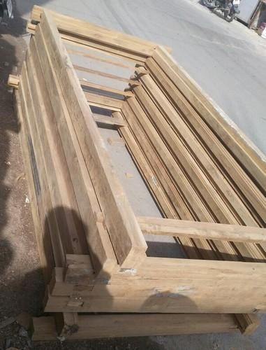 Wood Door Frame Size 7x4.5inch, Rs 450 /feet, MBK Wood Carving Works ...