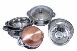 Copper Bottom Serving Bowl
