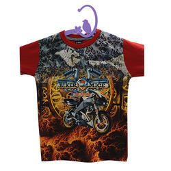 Kids Half Sleeve T-Shirt Digital Printing Service