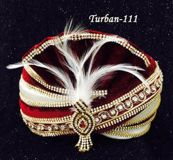 Zarkan Wedding Turban