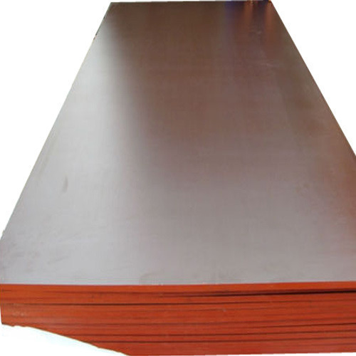 Brown With Red Waterproof Plywood