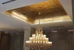 Gold Coating on Ceiling