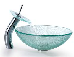Bathroom Glass Wash Basin