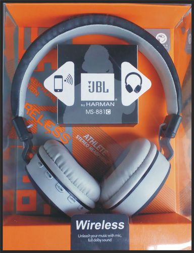 Product Image. Read More. JBL (MS881) Headphone