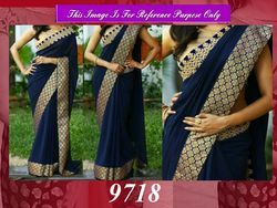 Latest Designer Party Wear Bridal Saree