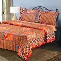 印度土布床单