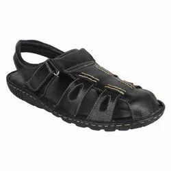 Party Wear Men Leather Sandals & Sleeper, Polyurethane