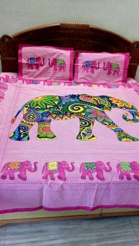 Jaipuri Cotton Designer Bed Sheet