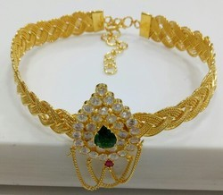 Traditional Arm Belt 24ct Gold Plated  Necklace