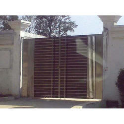 Brown Stainless Steel Gates
