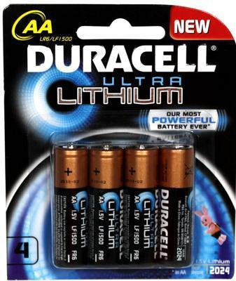 Duracell Lithium Battery Wholesaler from Mumbai