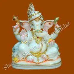 Bhagwan Ganesha Marble Murti