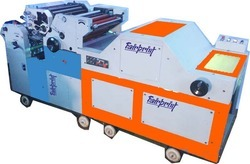 2 Color Polythene Printing Machine