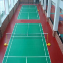 Rishi Sports Indoor Synthetic Badminton Court Flooring Services
