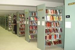 Wood Library Furniture for School