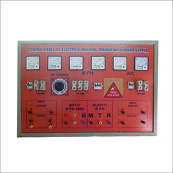 Electrical Machine Trainer Control Panel